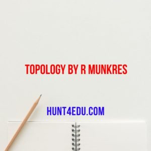 topology by r munkres