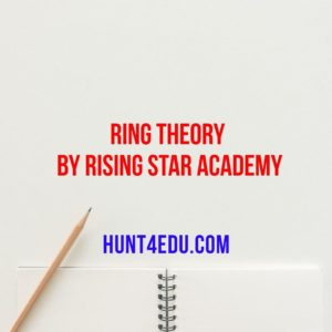 ring theory by rising star academy