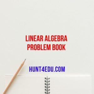 linear algebra problem book by paul r halmos