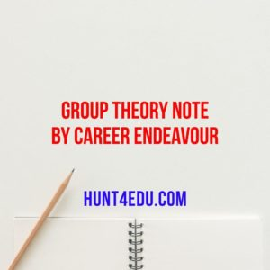 group theory by career endeavour