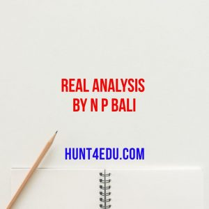 real analysis by n p bali