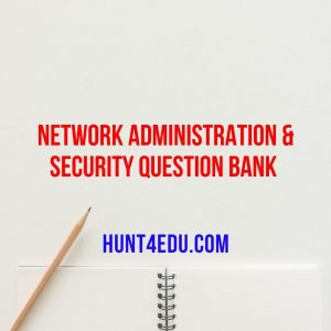 network administration & security question bank