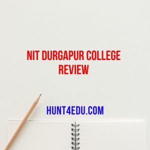 nit durgapur college review