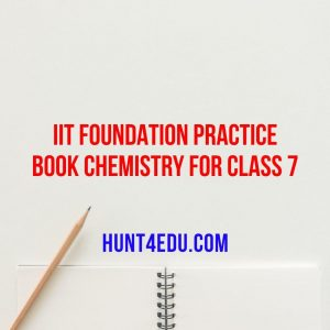iit foundation practice book chemistry for class 7