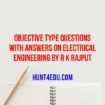 Objective Type Questions With Answers on Electrical Engineering By R K Rajput